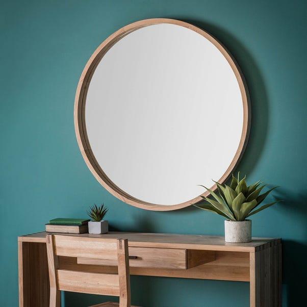 Bowman 100cm Wall Mirror Natural
