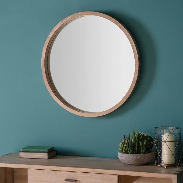Bowman 70cm Wall Mirror Natural