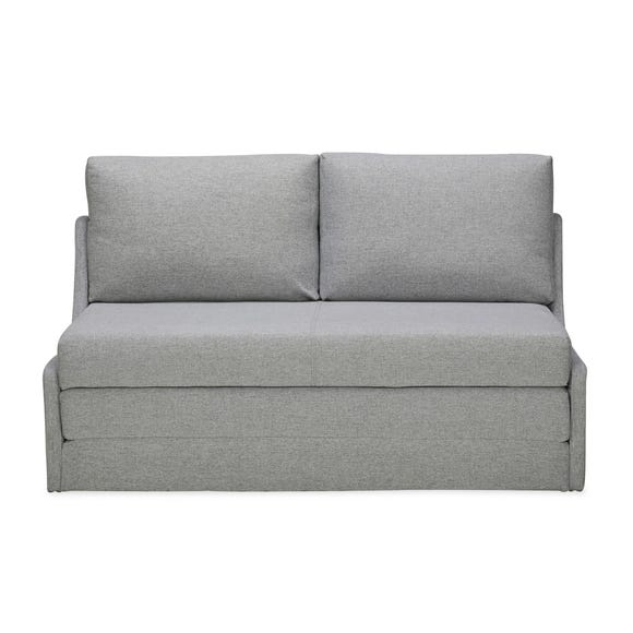 Dos Fabric Sofa Bed Light Grey
