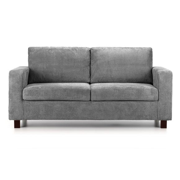 Max 3 Seater Fabric Sofa Slate (Grey)