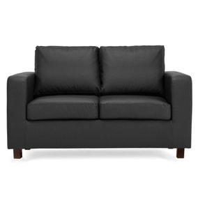 Max 2 Seater Faux Leather Sofa