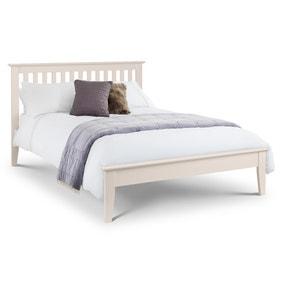 Salerno Ivory Wooden Bed Frame