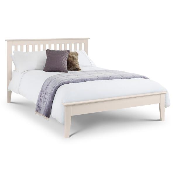 Salerno Ivory Wooden Bed Frame  undefined