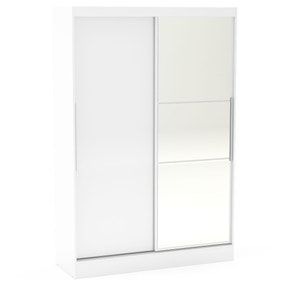 Lynx White Sliding Wardrobe