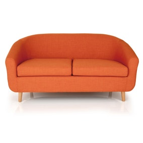 Turin 2 Seater Tub Chair - Orange