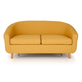 Turin 2 Seater Tub Chair - Mustard