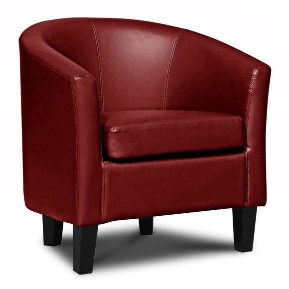 Opus Tub Chair - Cranberry Cranberry (Red)