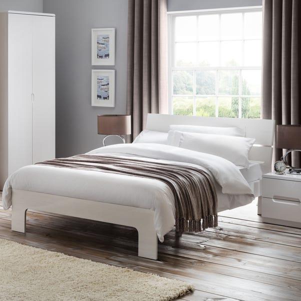 Manhattan High Gloss Bed Frame  undefined