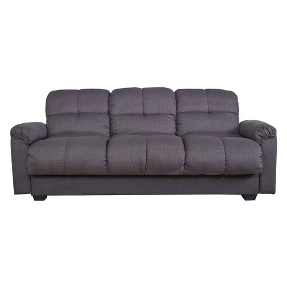 Cate Fabric Sofa Bed Grey
