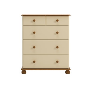 Colburn Cream 5 Drawer Chest