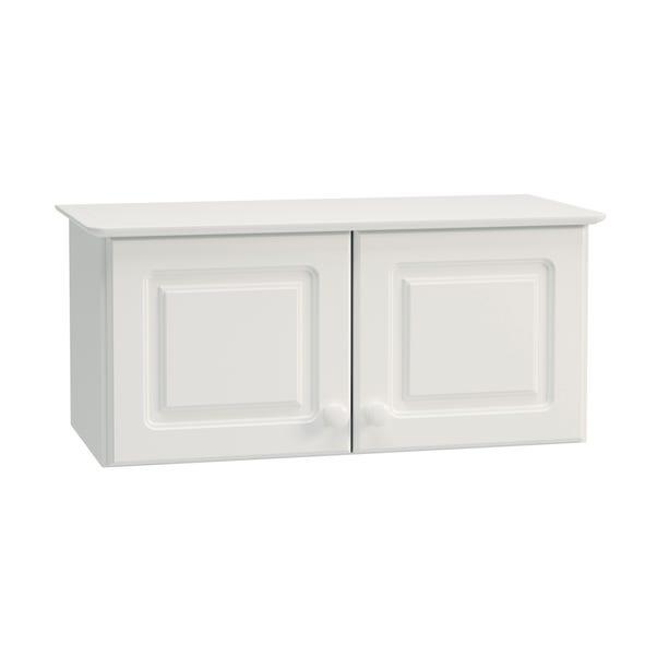 Colburn Off White Double Wardrobe Top Box Off White