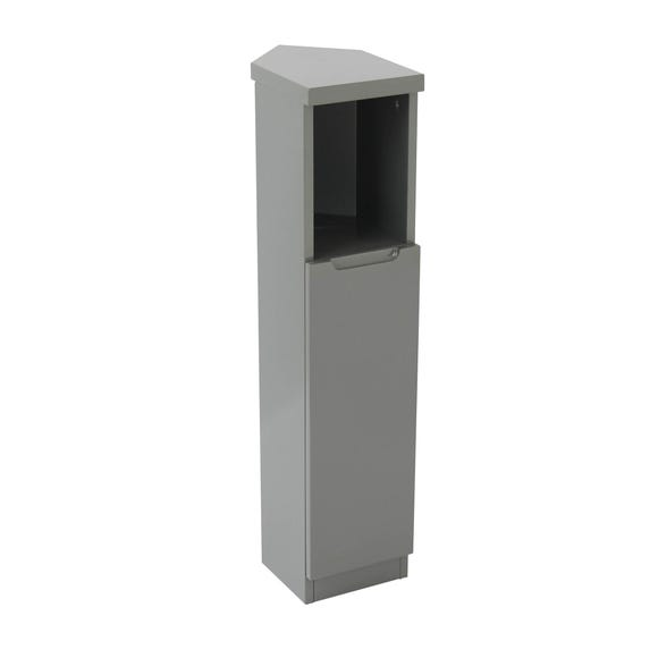 Siena Grey Corner Cabinet