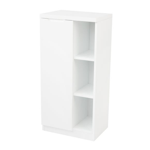 Siena White Console Unit White