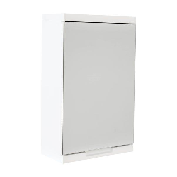 Siena White Mirror Cabinet White