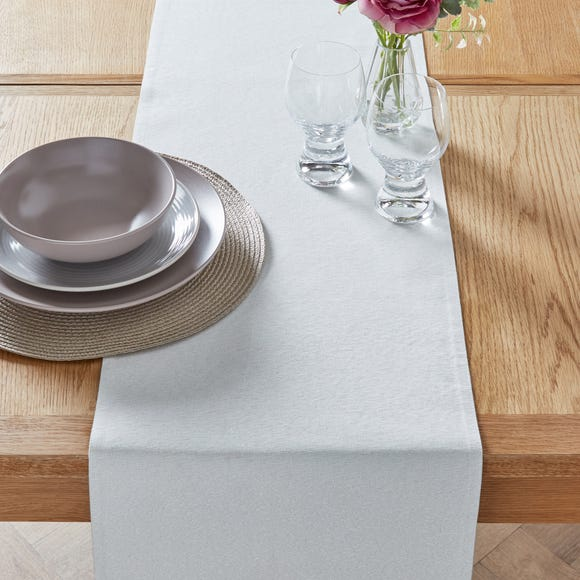 Sparkle Table Runner Natural