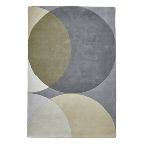 Grey Geometric Haines Rug