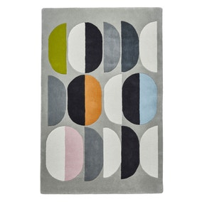 Grey Inaluxe Composition Rug