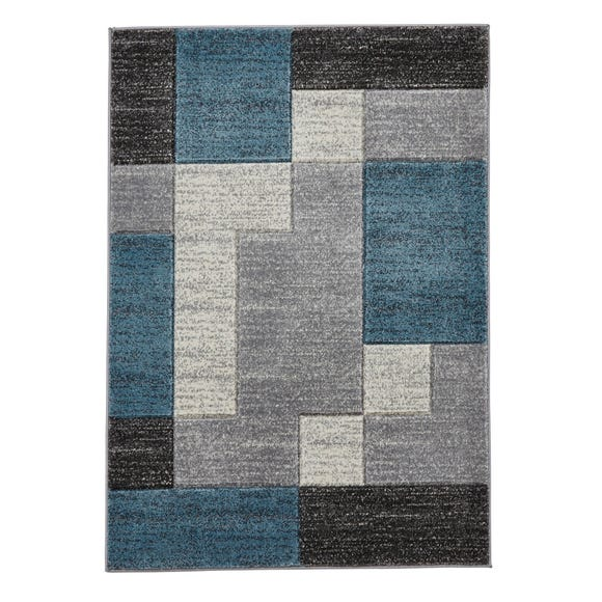 Matrix Rug Teal (Blue) undefined