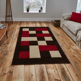 Red Matrix Rug