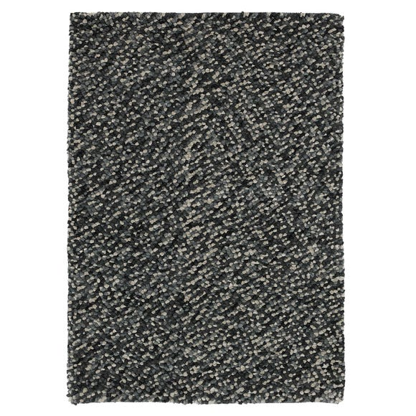 Grey Pebbles Rug  undefined