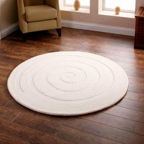 Spiral Circle Rug