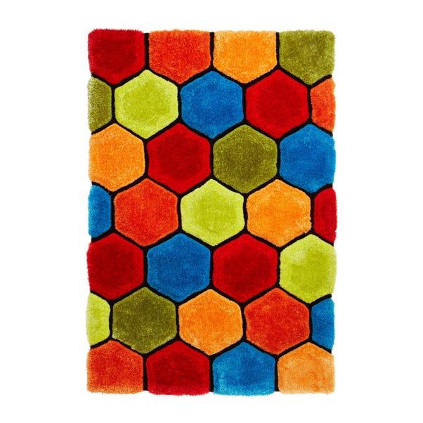 Noble House Honeycomb Rug Honeycomb Multicoloured undefined