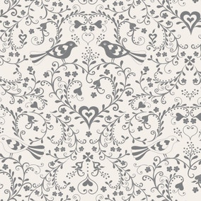 Jan Constantine Love Birds Fabric