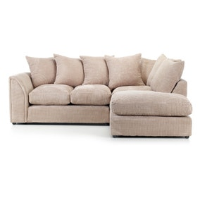 Denver Mink Right Hand Corner Sofa