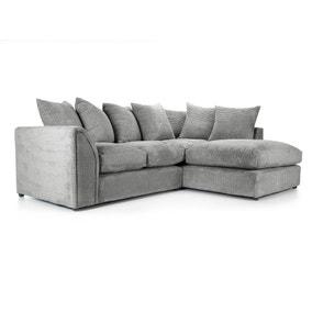 Denver Grey Right Hand Corner Sofa