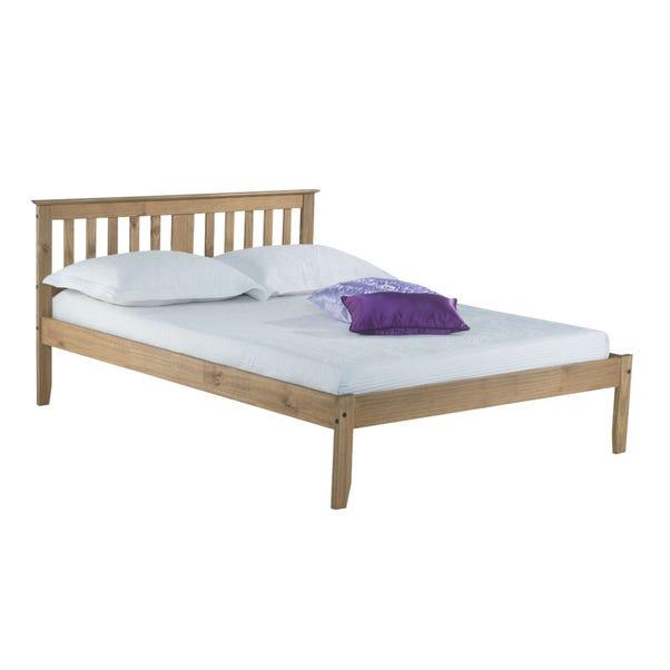 Salvador Pine Wooden Bed Frame Brown undefined