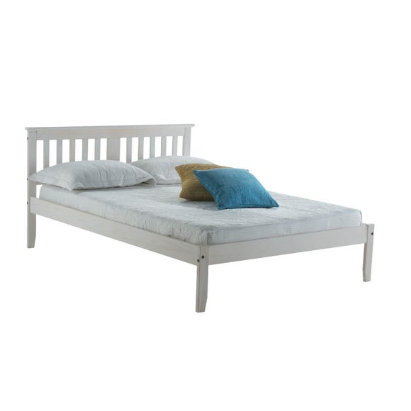 Salvador White Bed Frame White undefined
