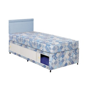 Economy Sliding Storage Divan Bed