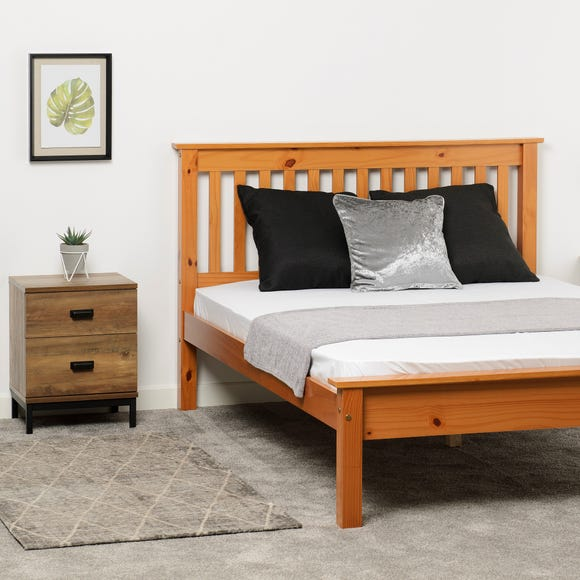 Monaco Pine Low Foot End Bed Frame  undefined