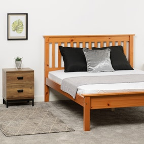 Monaco Pine Low Foot End Bed Frame