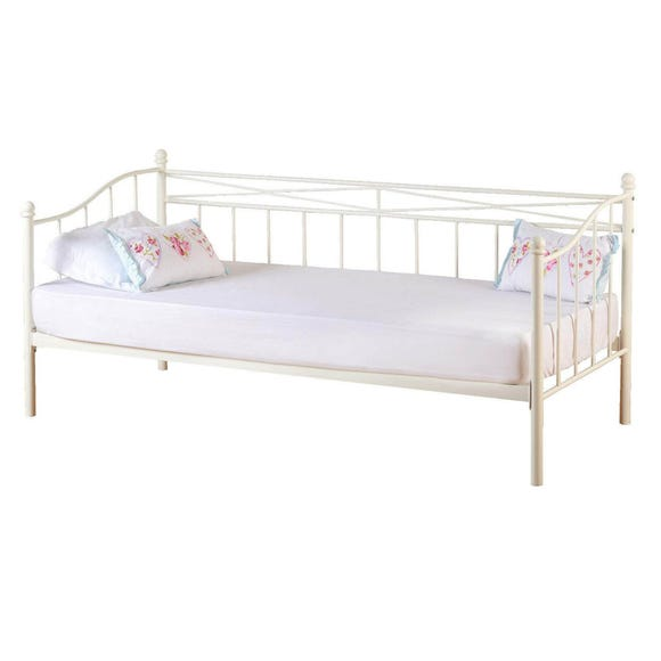 Pandora Ivory Day Bed White undefined