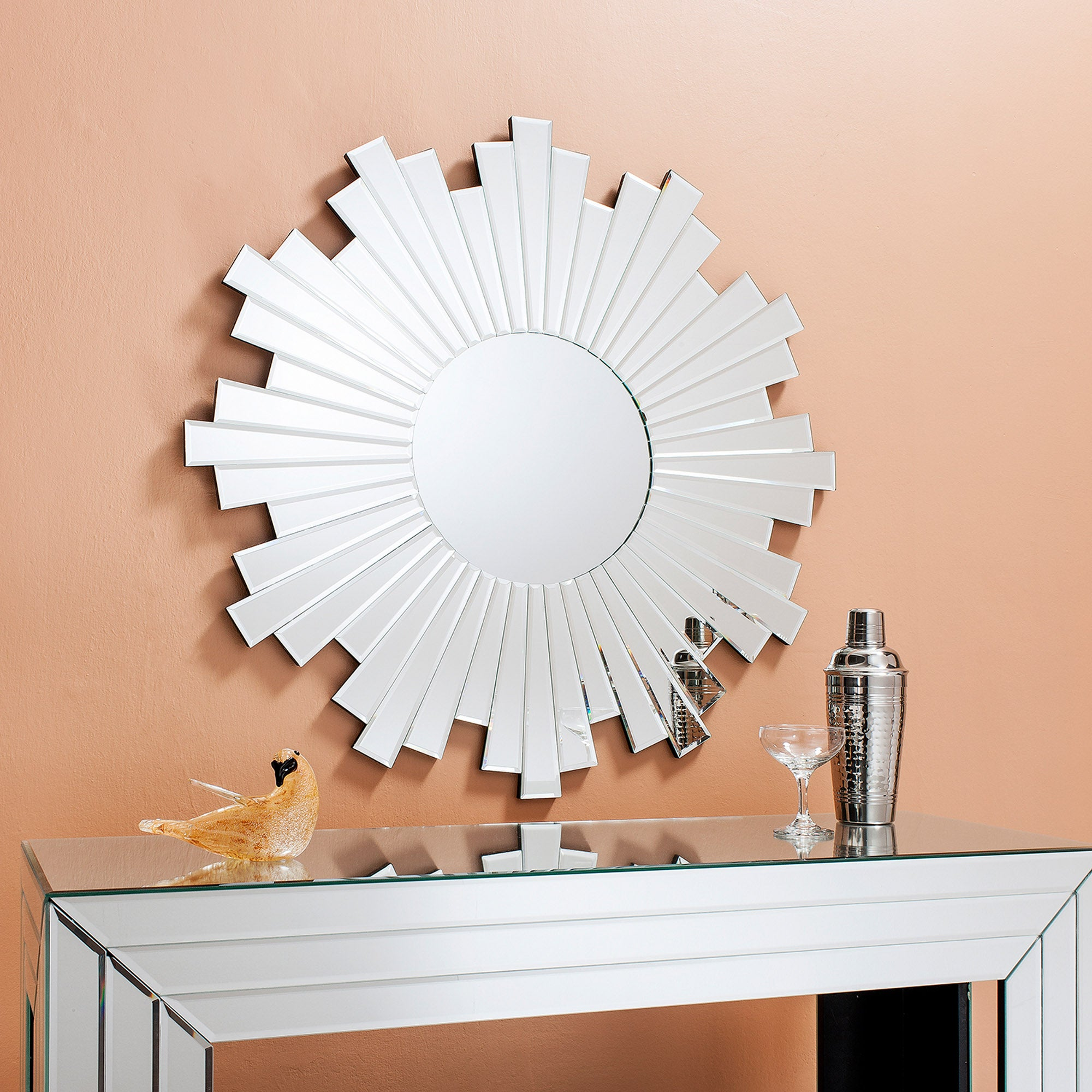 Click to view product details and reviews for Zamora 80cm Wall Mirror Clear.