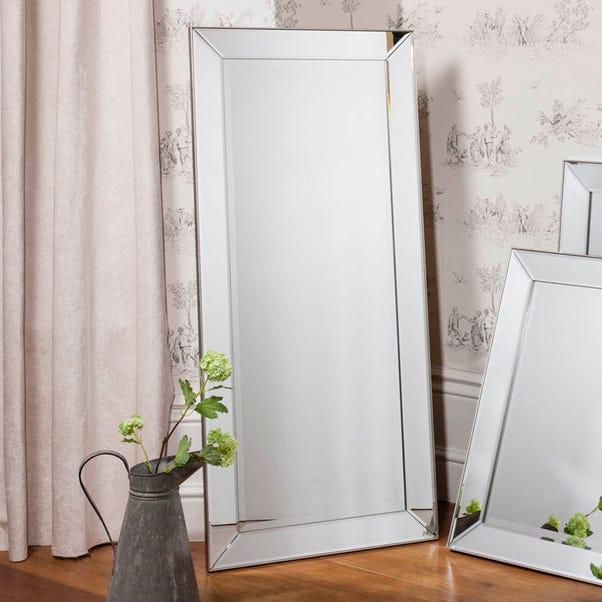 Baskin 135x60cm Wall Mirror Clear