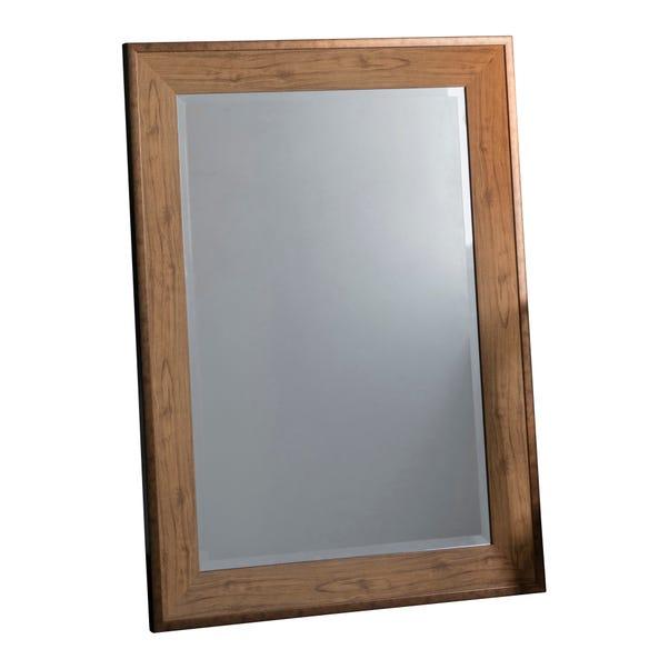 Barrington 111x80cm Wall Mirror Brown
