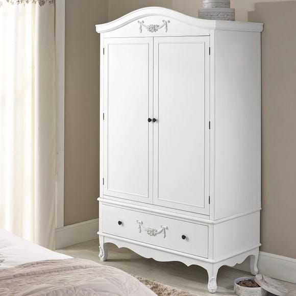Toulouse Ivory Double Wardrobe