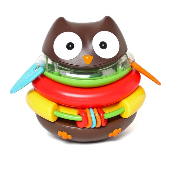 Skip Hop Rocking Owl Stacker MultiColoured