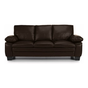 Texas 3 Seater Bonded Leather Sofa