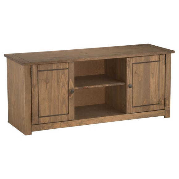 Santiago TV Stand Chestnut (Brown)