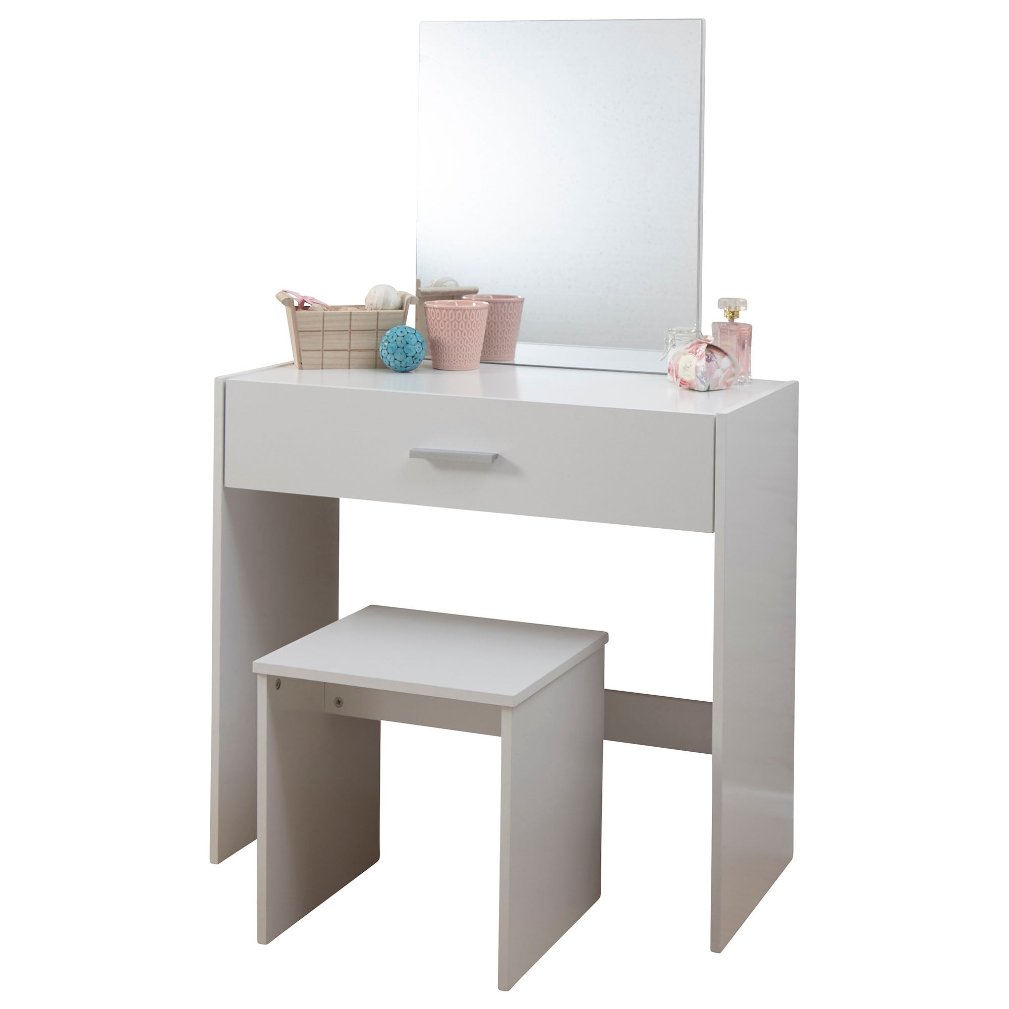 Julia Dressing Table Set White