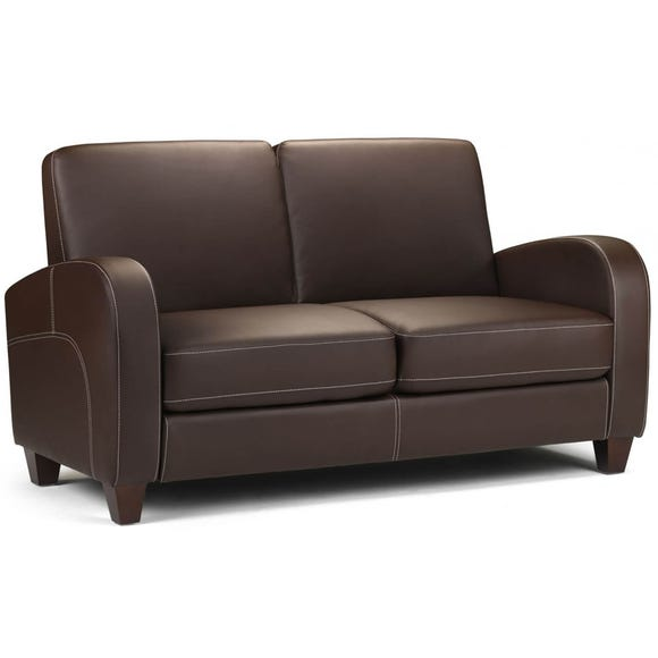 Vivo 2 Seater Faux Leather Sofa