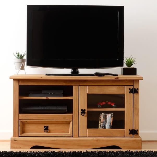 Corona TV Stand Oak (Brown)
