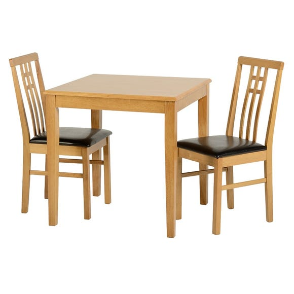 Vienna Dining Set Pine (Brown)