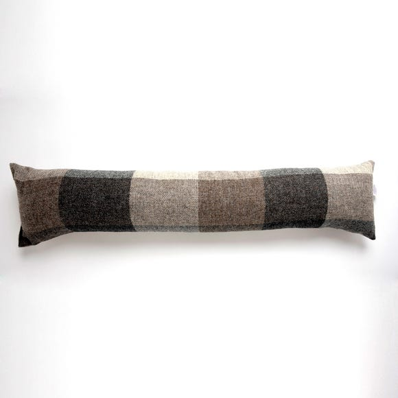 Heritage Check Grey Draught Excluder  undefined