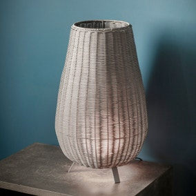 Gallery Direct Bromley Rattan Table Lamp