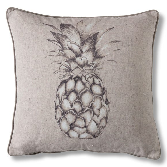 Gallery Direct Pineapple Natural Cushion Natural
