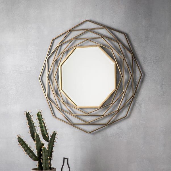 Estella Gold Wall Mirror Gold